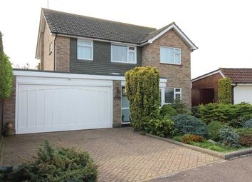 Thumbnail 4 bed detached house for sale in Coptfold Close, Southend-On-Sea