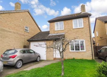 Thumbnail 3 bed detached house for sale in Farfield Close, Sawtry, Huntingdon, Cambridgeshire
