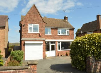 Thumbnail 4 bed detached house for sale in Manor Road Extension, Oadby, Leicester