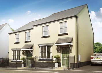 "Thumbnail 3 bed semi-detached house for sale in ""Archford"" at Brixton, Plymouth"