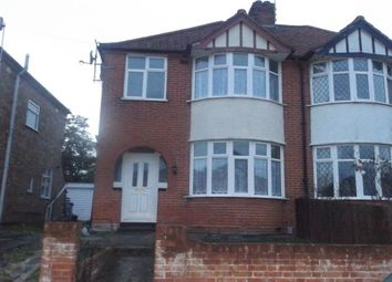 Thumbnail 3 bed property to rent in Lavenham Road, Ipswich
