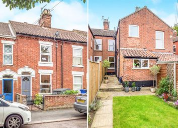Thumbnail 2 bed terraced house for sale in Glebe Road, Norwich