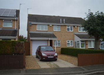 Thumbnail 3 bed semi-detached house to rent in Thornfield, Cherry Lodge, Northampton