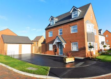 Thumbnail 5 bed detached house for sale in Plover Green, Mallard Walk, Stafford
