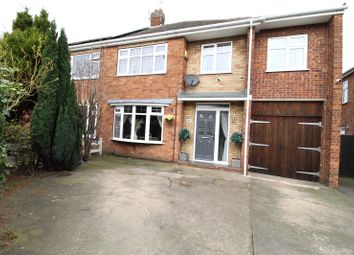 Thumbnail 3 bed semi-detached house for sale in Audern Road, Scunthorpe, North Lincolnshire