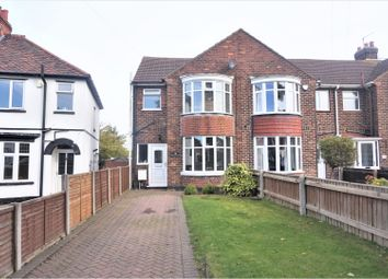 Thumbnail 3 bed end terrace house for sale in Clee Crescent, Grimsby