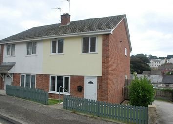 Thumbnail 3 bed semi-detached house for sale in Old Roselyon Road, Par, Cornwall