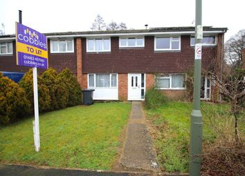 Thumbnail 3 bed terraced house to rent in Busdens Way, Milford, Godalming
