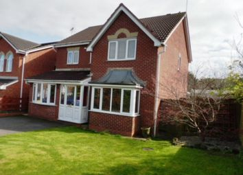 Thumbnail 4 bed detached house for sale in Mellor Drive, Uttoxeter