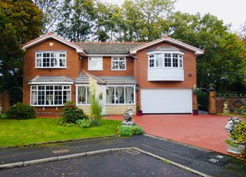 Thumbnail 5 bed detached house for sale in Thorneyholme Close, Lostock, Bolton