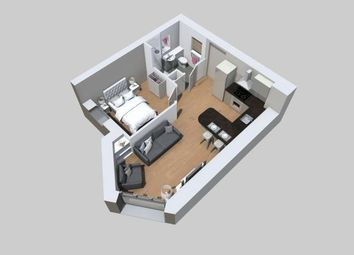 Thumbnail 1 bed flat to rent in Seasalt Apartments, 7 New Street, Plymouth