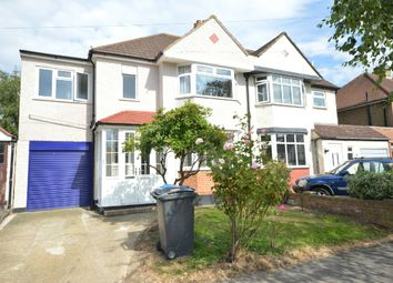 Thumbnail 4 bed semi-detached house to rent in Somerset Avenue, Chessington, Surrey