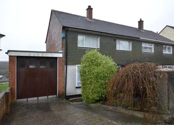 Thumbnail 3 bedroom semi-detached house to rent in Warwick Avenue, Plymouth, Devon