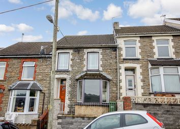 Thumbnail 3 bed terraced house for sale in Upper North Road, Bargoed, Caerphilly