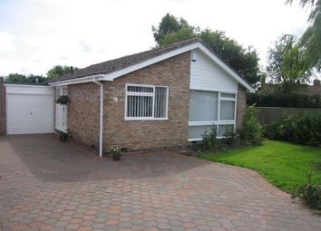 Thumbnail 2 bed bungalow to rent in The Winding, Dinnington, Newcastle Upon Tyne