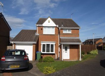 Thumbnail 3 bed detached house for sale in Highstead Avenue, Cramlington
