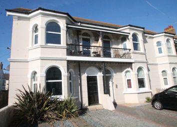 Thumbnail 3 bed flat to rent in Navarino Road, Worthing