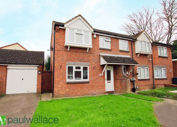 Thumbnail 3 bedroom semi-detached house for sale in Kingsmead, Cheshunt, Waltham Cross