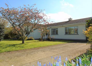 Thumbnail 3 bed detached bungalow for sale in St Johns Corner, Rosudgeon, Penzance, Cornwall.