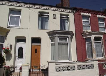 Thumbnail 3 bed terraced house to rent in Jacob Street, Toxteth, Liverpool
