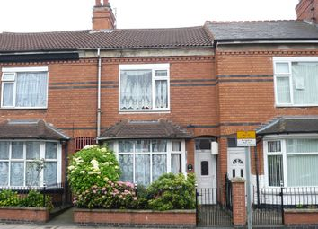 Thumbnail 3 bedroom terraced house for sale in East Park Road, Leicester