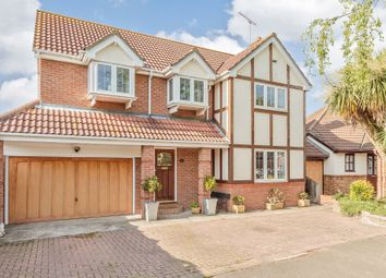 Thumbnail 4 bed detached house for sale in Birches, Canvey Island, Essex