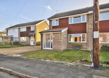 Thumbnail 3 bed semi-detached house for sale in Greenfields, St. Ives, Cambridgeshire