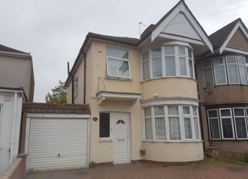 Thumbnail 3 bed semi-detached house for sale in Kingshill Avenue, Kenton, Middlesex