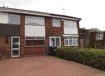 Thumbnail 3 bed terraced house for sale in Clover Drive, Birmingham, West Midlands