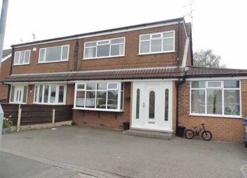 Thumbnail 3 bed semi-detached house for sale in Clarkson Close, Denton, Manchester