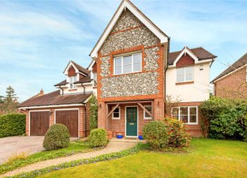 Thumbnail 5 bed detached house for sale in Heather Gardens, Newbury, Berkshire