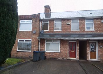 Thumbnail 3 bed terraced house to rent in Danesbury Crescent, Kingstanding