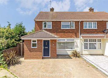 Thumbnail 4 bed semi-detached house for sale in Catham Close, St Albans, Hertfordshire