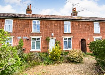 Thumbnail 3 bed terraced house for sale in Gt. Hautbois Road, Coltishall, Norwich