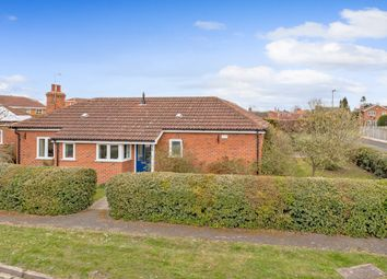 Thumbnail 2 bed detached bungalow for sale in Hawthorns, Riccall, York