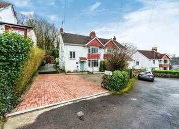 Thumbnail 3 bed semi-detached house for sale in Portway, Bishopston, Swansea