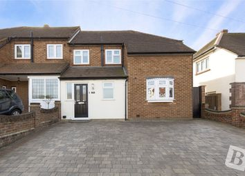Thumbnail 3 bedroom semi-detached house for sale in Parkside Avenue, Romford