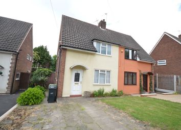 Thumbnail 2 bed semi-detached house to rent in Ashenhurst Road, Dudley