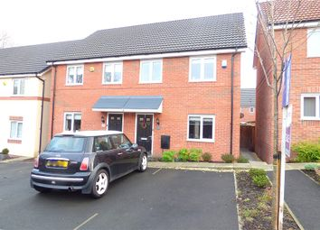 Thumbnail 3 bed semi-detached house for sale in Mandalay Road, Pleasley, Mansfield
