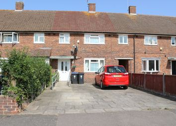 Thumbnail 3 bed terraced house for sale in Cornwall Avenue, Byfleet, Surrey