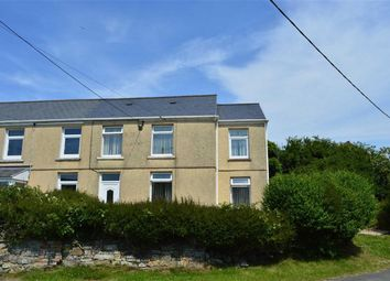 Thumbnail 4 bedroom end terrace house for sale in Chapel Road, Crofty, Swansea