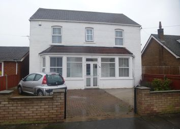 Thumbnail 4 bed detached house to rent in Church Lane, Skegness