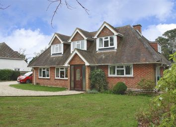 Thumbnail 5 bed detached house for sale in Sway Road, Pennington, Lymington, Hampshire