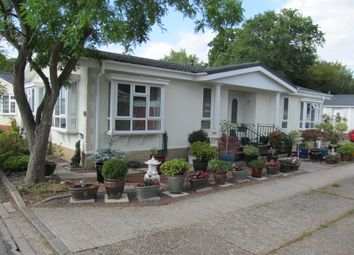 Thumbnail 2 bed mobile/park home for sale in Shirkoak Park, W#Oodchurch, Ashford, Kent, 3Rr