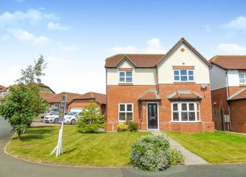 Thumbnail 4 bedroom detached house for sale in Brockwell, Blackhall Colliery, Hartlepool