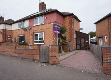 Thumbnail 3 bed semi-detached house for sale in Corfield Rise, Leicester
