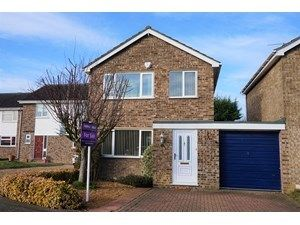 Thumbnail 3 bed link-detached house to rent in The Trundle, Somersham, Huntingdon