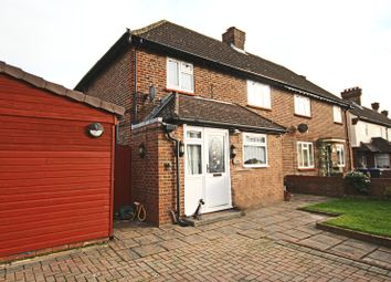 Thumbnail 4 bed semi-detached house for sale in Victory Park Road, Addlestone, Surrey