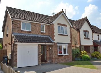 Thumbnail 4 bed detached house for sale in Larksway, Bishop's Stortford