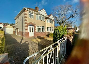 Thumbnail 3 bed semi-detached house for sale in Neston Road, Newport, Gwent.